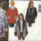 Butterick Sewing Pattern 6774 Misses Size 18-20-22 Easy Reversible Fleece Jacket Button Front