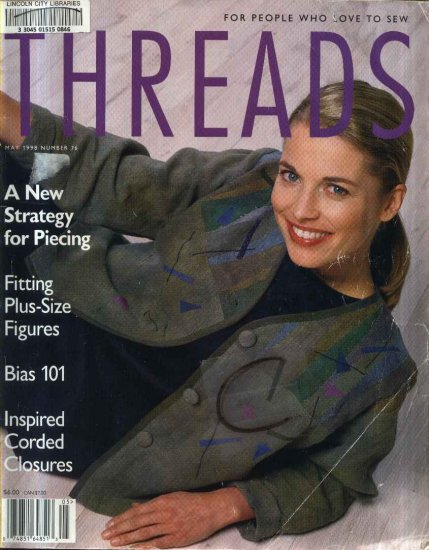 Threads Magazine Back Issue April May 1998 Issue 76 Used