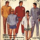"McCall's Sewing Pattern 3363 Mens Chest Size 38-40""  Wardrobe Zipper Front Jacket Top Pants Shorts"
