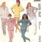 McCalls Sewing Pattern 5070 Misses Size 18-20 Knit Wardrobe Zipper Front Jacket Top Pants Shorts