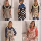 Simplicity Sewing Pattern 2390 Misses Size 10-20 Maternity Aprons Loose Fitting Cover-up Top