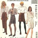 McCall's Sewing Pattern 6164 Misses Size 14-16 One Hour Front Wrap Skirts Three Lengths