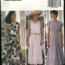 Butterick Sewing Pattern 6204 Misses Size 6-8-10 Easy Classic Sleeveless Summer Flared Skirt Dress