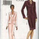 Vogue Sewing Pattern 8188 Misses Sizes 16-18-20-22 Easy  Formal Evening Long Short Dress Jacket