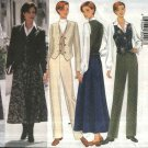 Butterick Sewing Pattern 6270 Misses Sizes 6-8-10 Easy Wardrobe Jacket Vest Skirt Pants