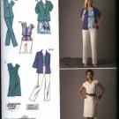 Simplicity Sewing Pattern 2705 Misses Size 10-18 Wardrobe Summer Dress Top Pants Shorts Jacket