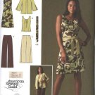 Simplicity Sewing Pattern 2938 Misses Size 10-18 Easy Wardrobe Dress Top Jacket Cropped Pants