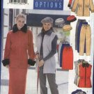 Butterick Sewing Pattern 5700 Misses Size 14-16-18 Easy Wardrobe Jacket Vest Skirt Pants Hat