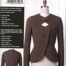 Vogue Sewing Pattern 8621 Misses Size 6-12 Claire Shaeffer's Custom Couture Button Front Jacket