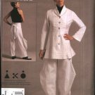 Vogue Sewing Pattern 1116 Misses Size 14-22 Andrea Katz Objects Jacket Pants Pantsuit