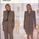 Butterick Sewing Pattern 5748 Misses Size 12-14-16 Button Front Jacket Straight Skirt Pants Suit