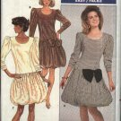 Retro Butterick Sewing Pattern 5869 Misses Size 6-8-10 Easy Bubble Skirt Party Dress