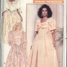 Butterick Sewing Pattern 5939 Misses Size 6-10 Retro Formal Wedding Basque Bodice Full Skirt Dress