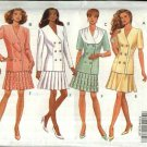 Butterick Sewing Pattern 5984 Misses Size 6-10 Easy Classics Button Front Top Pleated Flared Skirt