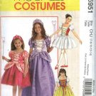 McCall's Sewing Pattern 5951 Girls Size 3-6 Storybook Costumes Ballerina Snow White Princess