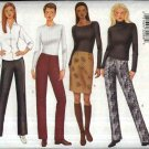 Butterick Sewing Pattern 6742 Misses Size 12-16 Easy Classic Straight Skirt Bootleg Long Pants