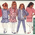 Butterick Sewing Pattern 6750 Girls Size 7-8-10 Easy Classic Wardrobe Knit Jacket Top Skirt Pants