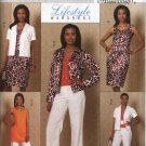 Butterick Sewing Pattern 5471 Misses Size 6-12 Easy Wardrobe Lined Jacket Tunic Dress Pants