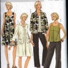 Butterick Sewing Pattern 5470 Misses Size 8-14 Easy Wardrobe Jacket Pullover Dress Top Pants