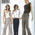 Vogue Sewing Pattern 8537 Misses Size 16-22 Easy Long Cropped Fitted Pants Optional Front Pleats