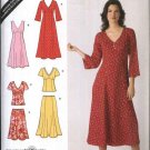 Simplicity Sewing Pattern 3827 Misses Size 10-18 Raised Waist Dress Top Flared Skirt