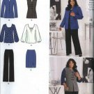 Simplicity Sewing Pattern 2344 Misses Size 10-18 Khaliah Ali Wardrobe Jacket Vest Top Skirt Pants