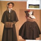 Butterick Sewing Pattern 5265 B5265 Misses Size 6-12 Historical Costume Cape Bonnet Long Skirt Muff