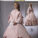 Butterick Sewing Pattern 5543 Misses Size 6-12 Historical Civil War Costume Long Full Skirt Dress