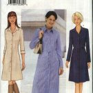Butterick Sewing Pattern 6793 Misses Size 12-14-16 Easy Classic Button Front A-Line Dress