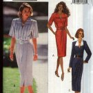 Butterick Sewing Pattern 6831 Misses Size 6-8-10 Mock Front Wrap Dress Short Long Sleeves
