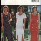 Butterick Sewing Pattern 6833 Misses Size 14-16-18 Easy Classic Straight Princess Seam Dress