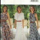 Butterick Sewing Pattern 6837 Misses Size 6-8-10 Easy Summer Flared Skirt Dress Sleeve Options