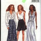 Butterick Sewing Pattern 6863 Misses Size 6-8-10 Easy Wide Legged Tapered Shorts Long Pants