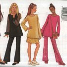 Butterick Sewing Pattern 6898 Girls Size 7-8-10 Easy Wardrobe Top Straight Skirt Pants Purse Bag