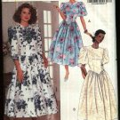 Butterick Sewing Pattern 5257 Misses Size 6-8-10-12 Easy Full Skirt Fitted Bodice Dress