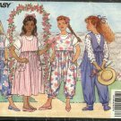 Butterick Sewing Pattern 5341 Girls Size 7-8-10 Easy Jumper Jumpsuit Romper