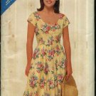 Butterick Sewing Pattern 5469 Misses 8-10-12 Easy Classic Dress Dirndl Skirt Fitted Bodice