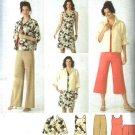 Simplicity Sewing Pattern 3843 Womens Plus Size 20W-28W Wardrobe Jacket Dress Pants Shell Top
