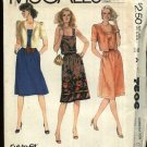McCall's Sewing Pattern 7506 Misses Size 10-14 Pullover Sleeveless Dress Short Sleeve Jacket
