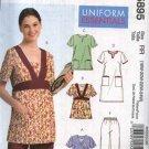 McCall's Sewing Pattern M5895 5895 Womans Plus Size 18W-24W Scrub Uniform Tops Dress Pants Nurse