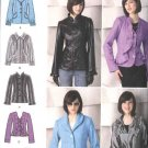 Simplicity Sewing Pattern 2313 Misses Size 6-14 Button zipper Front Long Sleeve Jackets Embellished