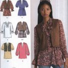 Simplicity Sewing Pattern 2310 Misses Size 6-18 Easy Top Tunic Vest Lots of Options Variations