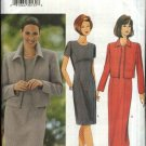 Butterick Sewing Pattern 6209 Misses Size 20-22-24 Easy Straight Princess Seam Dress Jacket