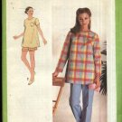 Simplicity Sewing Pattern 9047 Misses Size 6 Maternity Pullover Tops Drawstring Pants Shorts