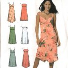 Simplicity Sewing Pattern 4994 Misses Size 12-14-16-18 Sundress Strapless Summer Dress