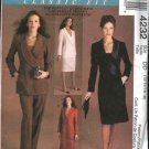 McCall's Sewing Pattern 4232 M4232 Misses Size 12-18 Classic Suit Jacket Pants Skirt Dress