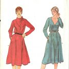 Vogue Sewing Pattern 7885 V7885 Misses Size 10 Pullover A-Line Long Sleeve Dress