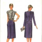 Vogue Sewing Pattern 7892 V7892 Misses Size 12 Easy Sleeveless Dress Long Sleeve Jacket
