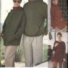 "Vogue Sewing Pattern 8175 Misses Mens Unisex Size 42-48"" Easy Knit Hooded Top Jacket Hoodie"