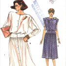 Vogue Sewing Pattern 9236 Misses Size 14-18 Easy Button Front Long Sleeve Sleeveless Dress